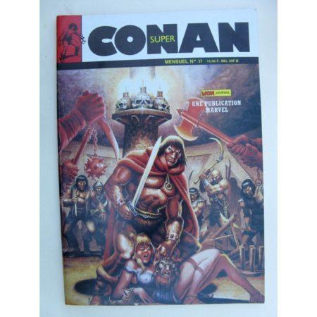 SUPER CONAN N°37 Le Noir Démon de Raba Than - Mon Journal 1988
