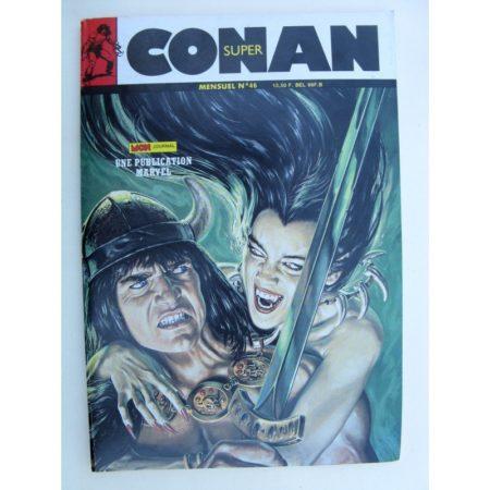 SUPER CONAN N°46 La nuit du Rat (fin) Mon Journal 1989
