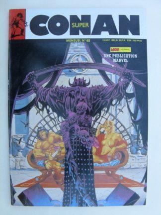SUPER CONAN N°48 Le Sanglant Rubis de la Mort - Mon Journal 1989