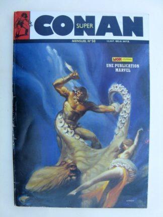 SUPER CONAN N°50 L'Idole vivante (fin) Mon Journal 1989