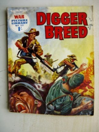 WAR PICTURE LIBRARY n°481 - DIGGER BREED (Fleetway 1968)