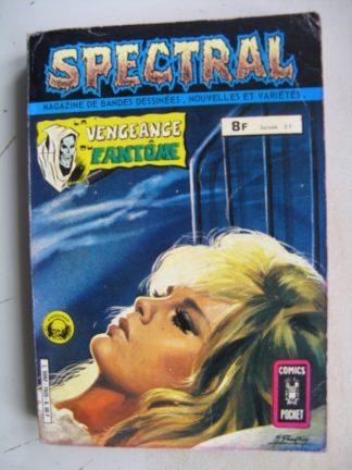 SPECTRAL ALBUM 7025 (N°13-14) Aredit Comics Pocket 1980