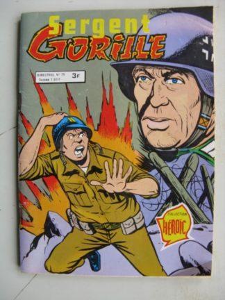 SERGENT GORILLE N°79 Les fantômes du passé (AREDIT 1980)