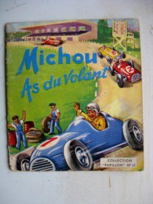 MICHOU AS DU VOLANT – JYLBERT – Collection Papillon n°10 (1960)