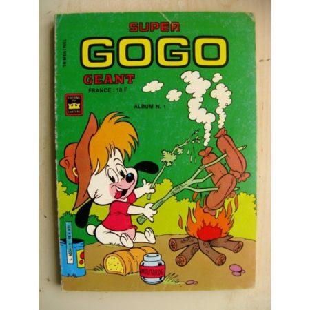 GOGO GEANT ALBUM N°1 (N°1-2) Editions du Château 1986