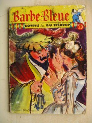 CONTES DU GAI PIERROT – BARBE BLEUE – J.M. RABEC (Editions BIAS 1953)