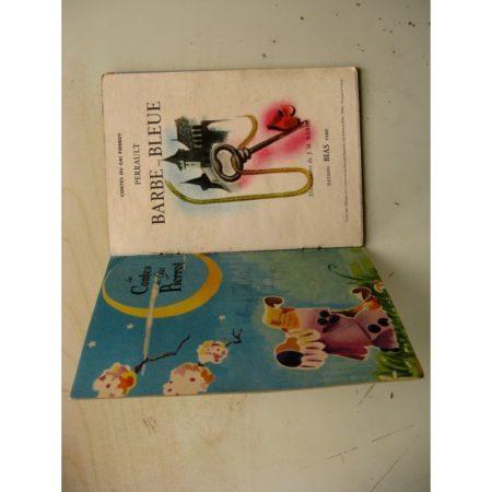 CONTES DU GAI PIERROT - BARBE BLEUE - J.M. RABEC (Editions BIAS 1953)