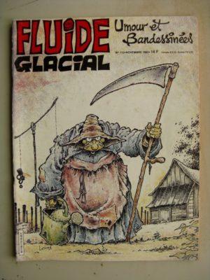 FLUIDE GLACIAL N°113 Athanagor Wurlitzer (MAESTER) Henriette (Berberian) Tintin le Saurien (Foerster)