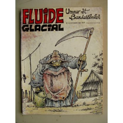 FLUIDE GLACIAL N°113 Athanagor Wurlitzer (MAESTER) Henriette (Berberian) Tintin le Saurien (Foerster)