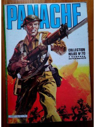 PANACHE ALBUM RELIE 70 (N°400-401-402-403) IMPERIA 1985
