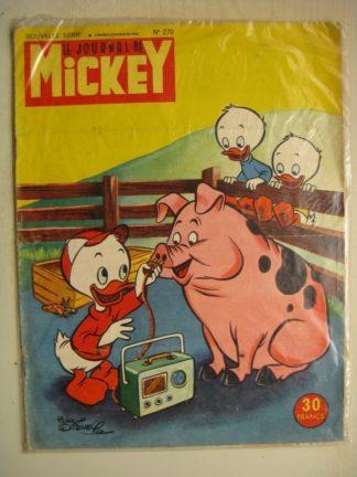 Journal de Mickey Nouvelle série n°270 (Juillet 1957)