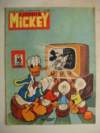 Journal de Mickey Nouvelle série n°195 (Février 1956)