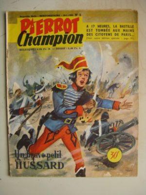 PIERROT CHAMPION N°5 (Janvier 1956)