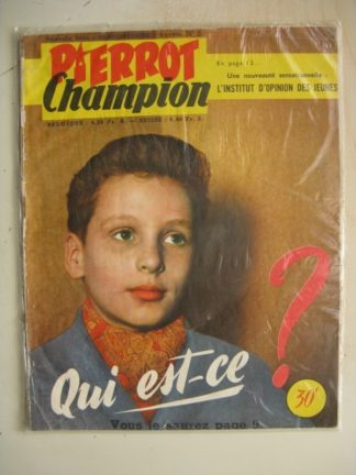 PIERROT CHAMPION N°2 (Janvier 1956)