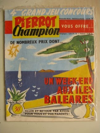 PIERROT CHAMPION N°6 (Février 1956)
