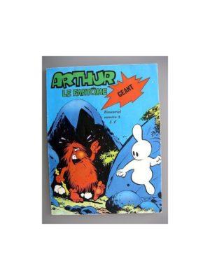 ARTHUR LE FANTOME GEANT N°3 (CEZARD) Jeunesse et Vacances 1977