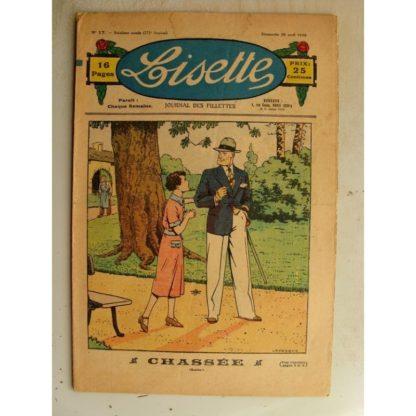 LISETTE n°17 (26 avril 1936) Chassée (Le Rallic - André Henry)