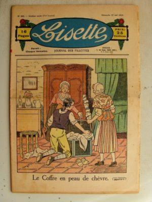 LISETTE N°20 (17 mai 1936) Le coffre en peau de chèvre – Marie-Anne et Anne-Marie (Davine – Blanche Dumoulin)