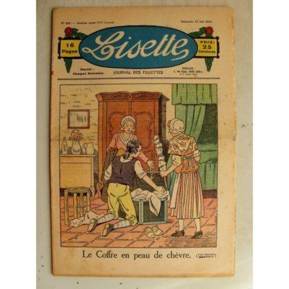 LISETTE n°20 (17 mai 1936) Le coffre en peau de chèvre