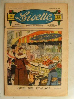 LISETTE N°21 (24 mai 1936) Le bel étalage (Louis Maîtrejean) Marie-Anne et Anne-Marie (Davine – Blanche Dumoulin)