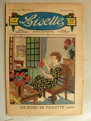 LISETTE N°22 (31 mai 1936) Les roses de Paulette – Marie-Anne et Anne-Marie (Davine – Blanche Dumoulin)