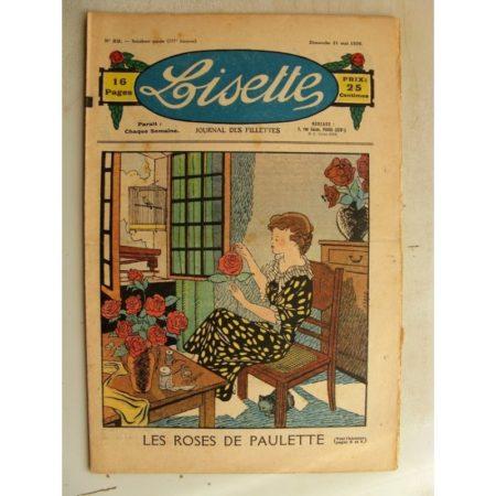 LISETTE n°22 (31 mai 1936) Les roses de Paulette