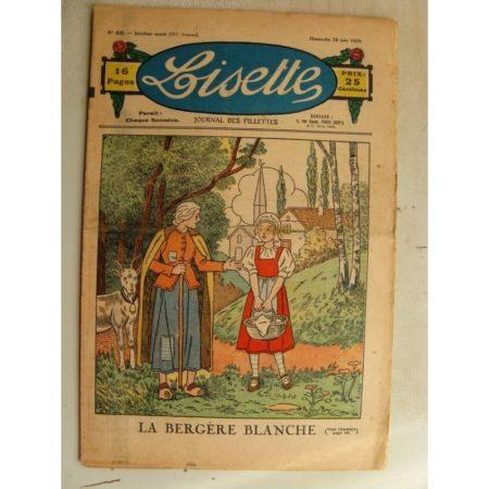 LISETTE n°26 (28 juin 1936) La bergère blanche