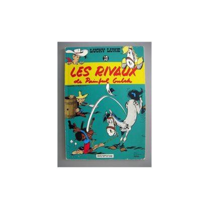 Lucky Luke tome 19 - Les Rivaux de Paiful Gulch - Pub Total - Dupuis 1969