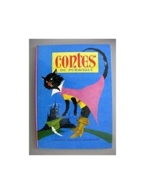 Contes de Perrault (Le Chat Botté – La Belle aux bois Dormant) Dessins de Paul Durand – Hachette 1970