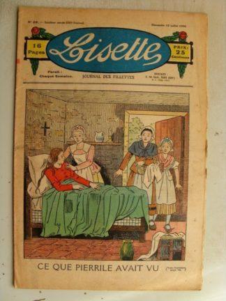LISETTE n°28(12juillet 1936) La chatte grise (conte)