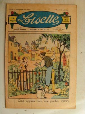 LISETTE n°34 (23 août 1936)Histoire d'une dot (Le Rallic) Marie-Anne et Anne-Marie (Davine – Blanche Dumoulin)