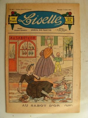 LISETTE n°40 (4 octobre1936) Au sabot d'or
