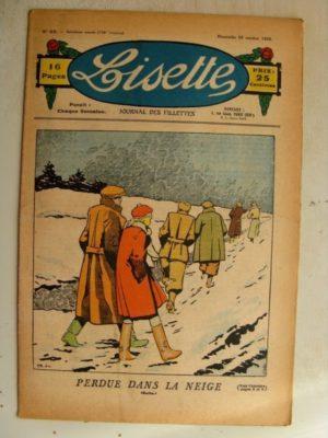 LISETTE n°43 (25 octobre 1936)Marie-Anne et Anne-Marie (Davine – Blanche Dumoulin)