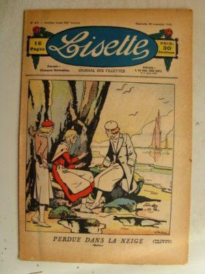 LISETTE n°47 (22 novembre 1936)L'aiguille magique (Madeleine Léonce Petit) Marie-Anne et Anne-Marie (Davine – Blanche Dumoulin