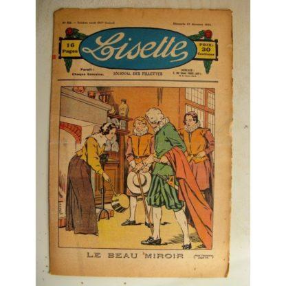 LISETTE n°51 (27 décembre 1936) L'homme de la grotte (conte de Noël) Le beau miroir