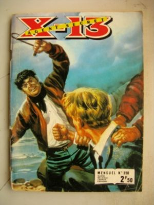 X13 AGENT SECRET N°350 Les crocs du Tigre (IMPERIA 1978)