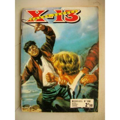 X13 AGENT SECRET N°350 Les crocs du Tigre (IMPERIA 1978)