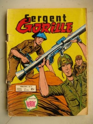 SERGENT GORILLE N°71 Sergent Long (AREDIT 1979)