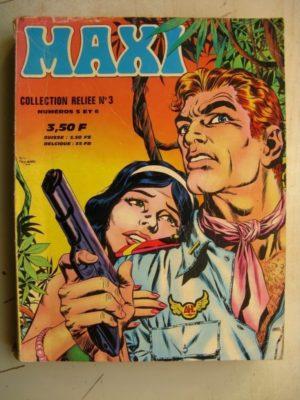 MAXI COLLECTION RELIEE N°3 (N°5-6) Drake et Drake détectives privés (IMPERIA 1972)