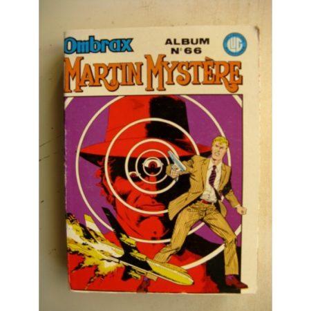 OMBRAX ALBUM N°66 (n°239-240-241-242) MARTIN MYSTERE (LUG 1986)