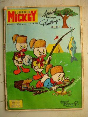 Journal de Mickey Nouvelle série n°776 Spécial Printemps (1967)