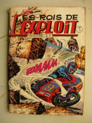 LES ROIS DE L'EXPLOIT N°34 La Bande des Quatre – Les voleurs de voitures (Mon Journal)