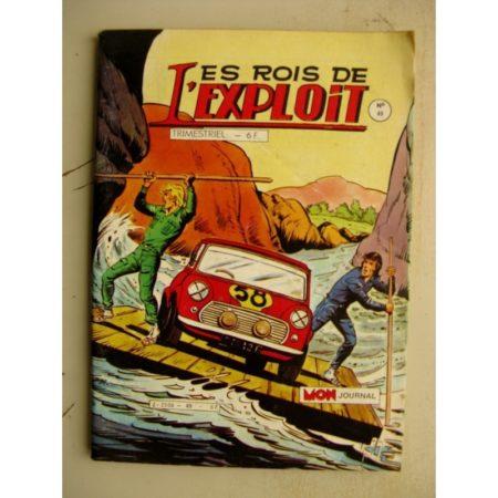LES ROIS DE L'EXPLOIT n°49 (Mon Journal 1985)