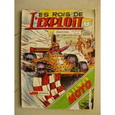 LES ROIS DE L'EXPLOIT n°53 (Mon Journal 1986)
