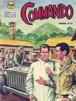 COMMANDO N°31 Le Tank 711 ne répond plus (ARTIMA 1962)