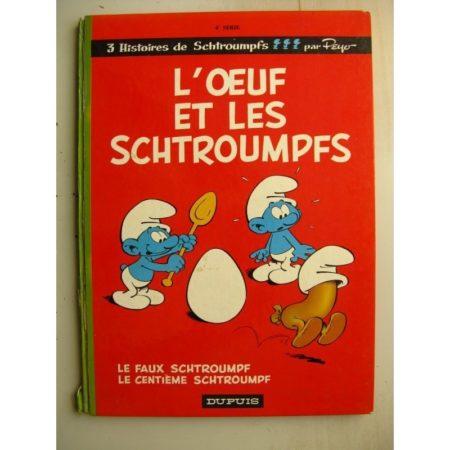 LES SCHTROUMPFS 4 - L'OEUF ET LES SCHTROUMPFS - PEYO (DUPUIS 1968) EDITION ORIGINALE (EO)