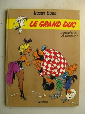 LUCKY LUKE TOME 40 – LE GRAND DUC (DUPUIS 1973) Edition Originale (EO)