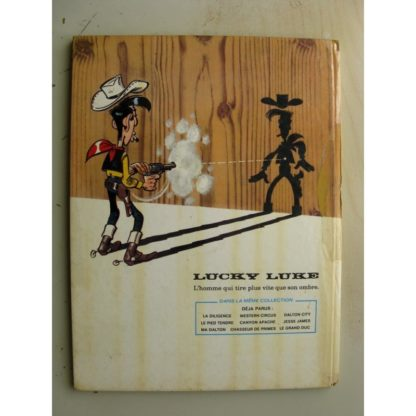 LUCKY LUKE - LE GRAND DUC - TOME n°40 (DUPUIS 1973) Edition Originale (EO)