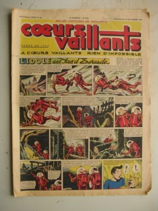 COEURS VAILLANTS N°46 (FLEURUS 1948)