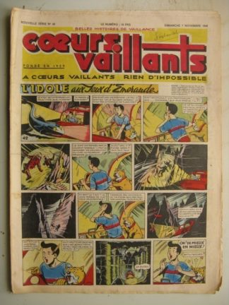 COEURS VAILLANTS N°45 (FLEURUS 1948)